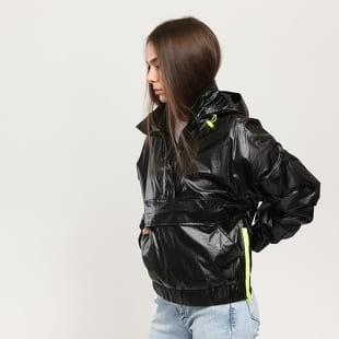 Urban Classics Ladies Vanish Crinkle Pull Over Jacket