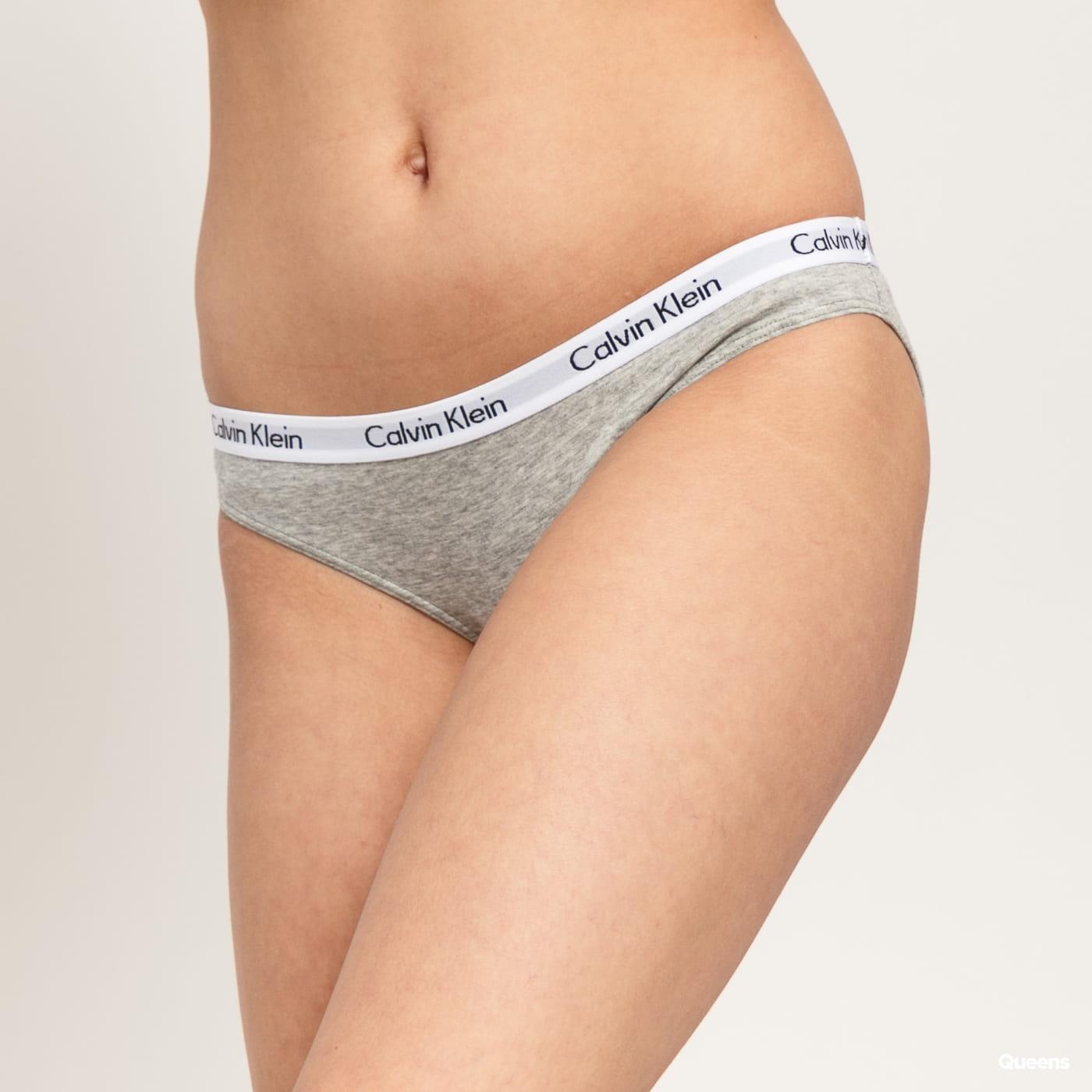 Calvin Klein Bikini - Slip 3 Pack C/O černé / bílé / melange šedé