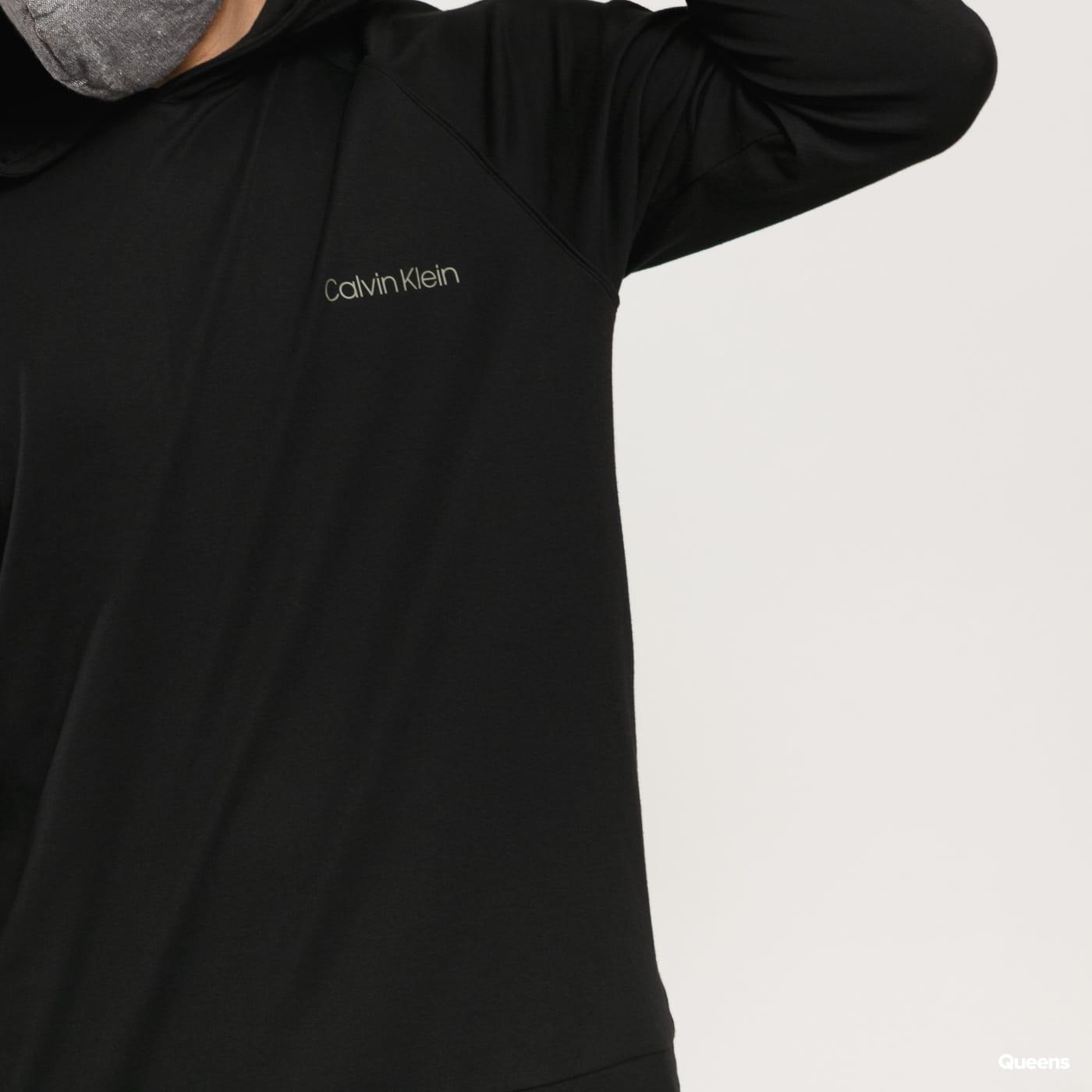 Calvin Klein LS Hoodie černá