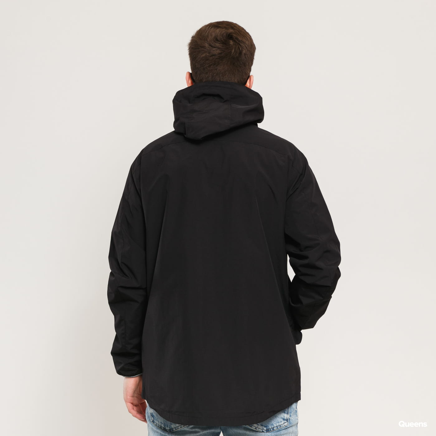 FRED PERRY Panelled Zip Through Jacket black
