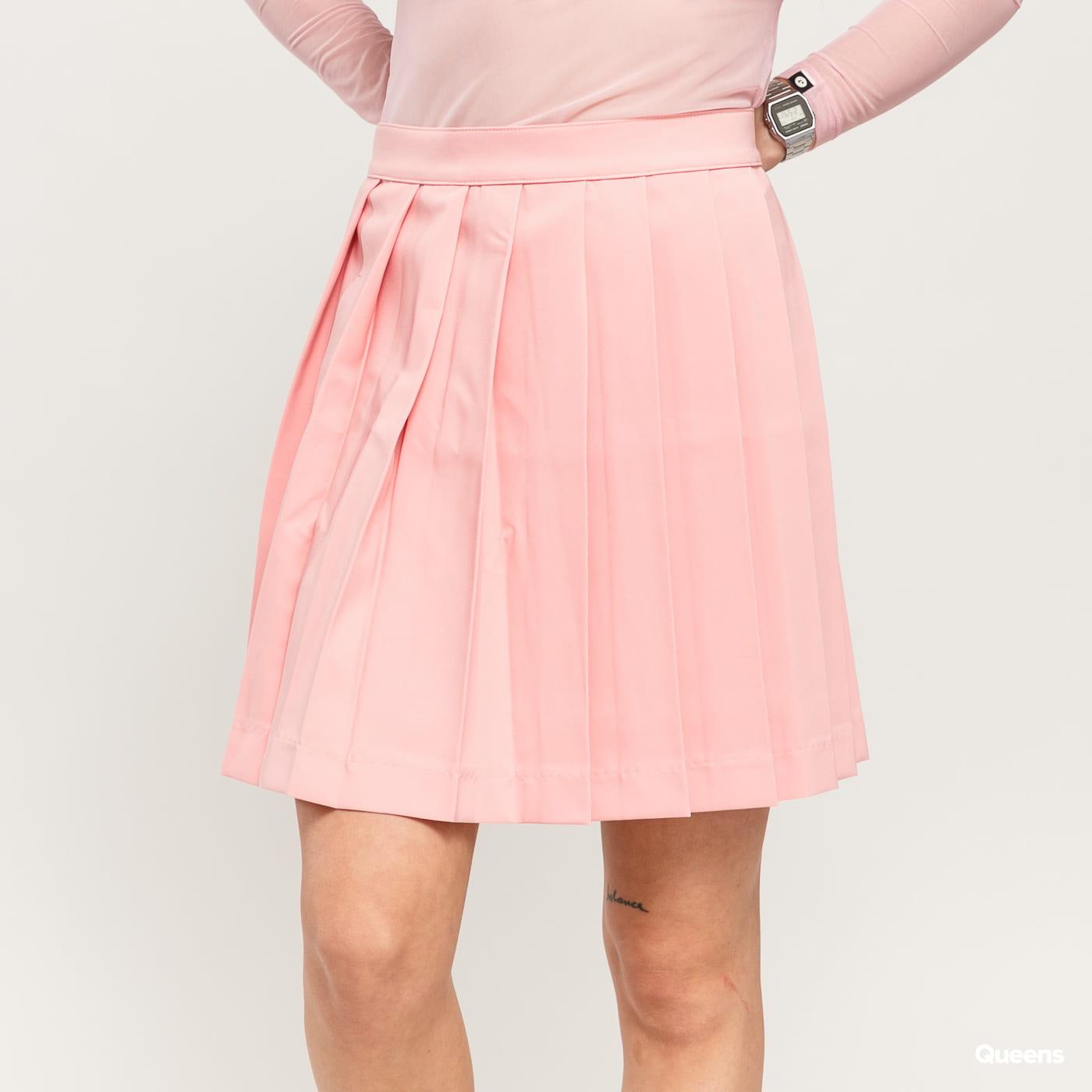 LAZY OAF Pleated Skirt světle růžová