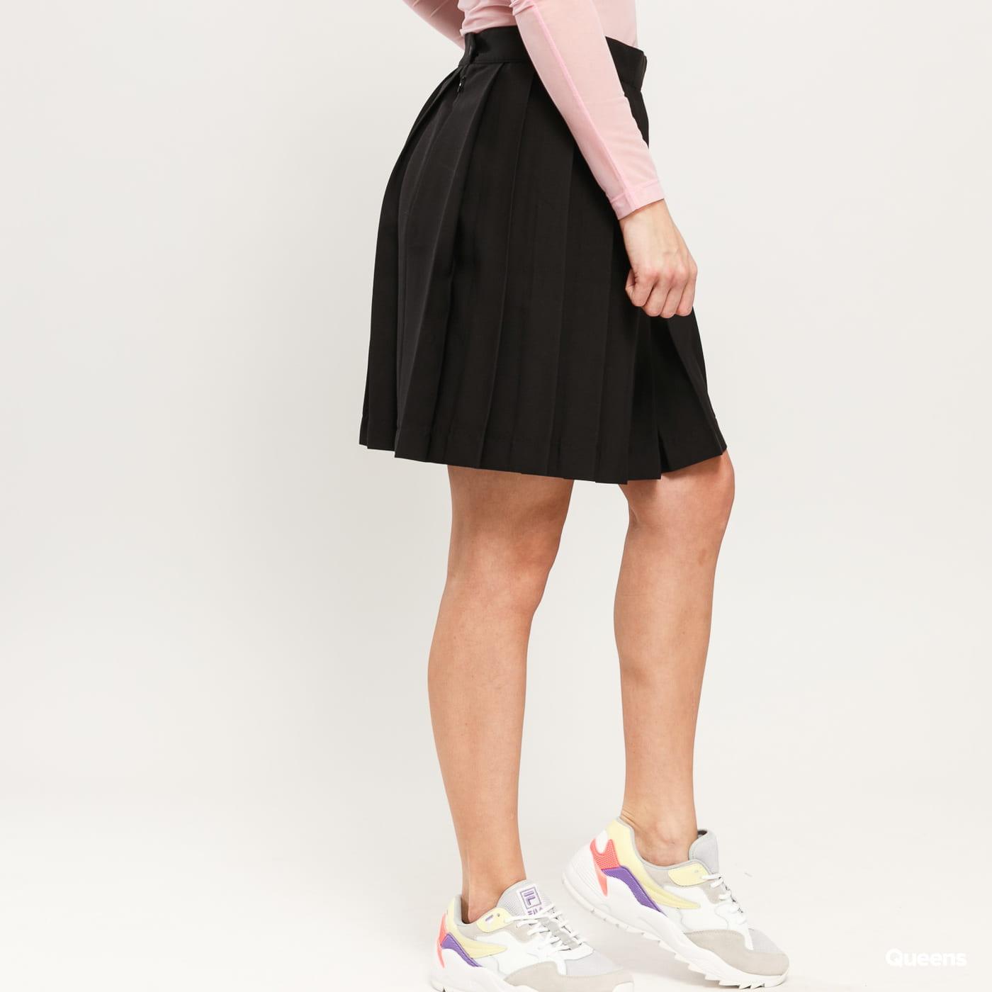 LAZY OAF Pleated Skirt black