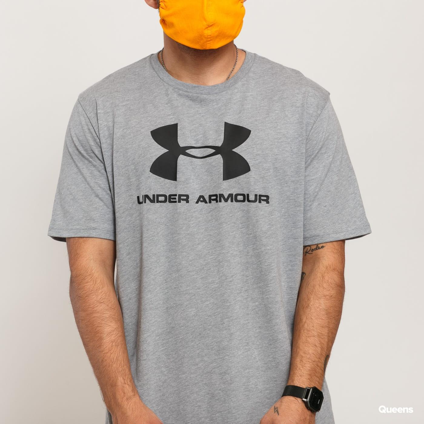 Under Armour Sportstyle Logo SS Tee melange gray
