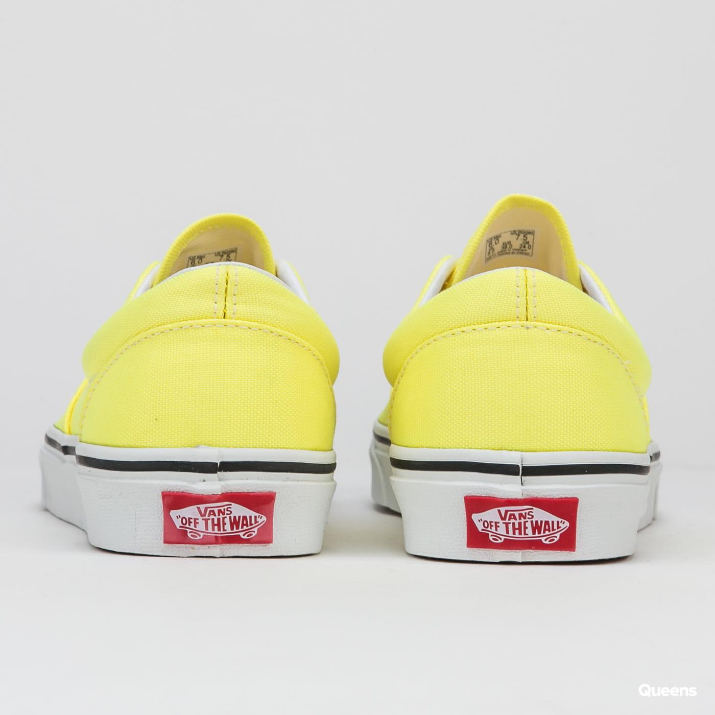 Vans Era (neon) lemon tonic / true white