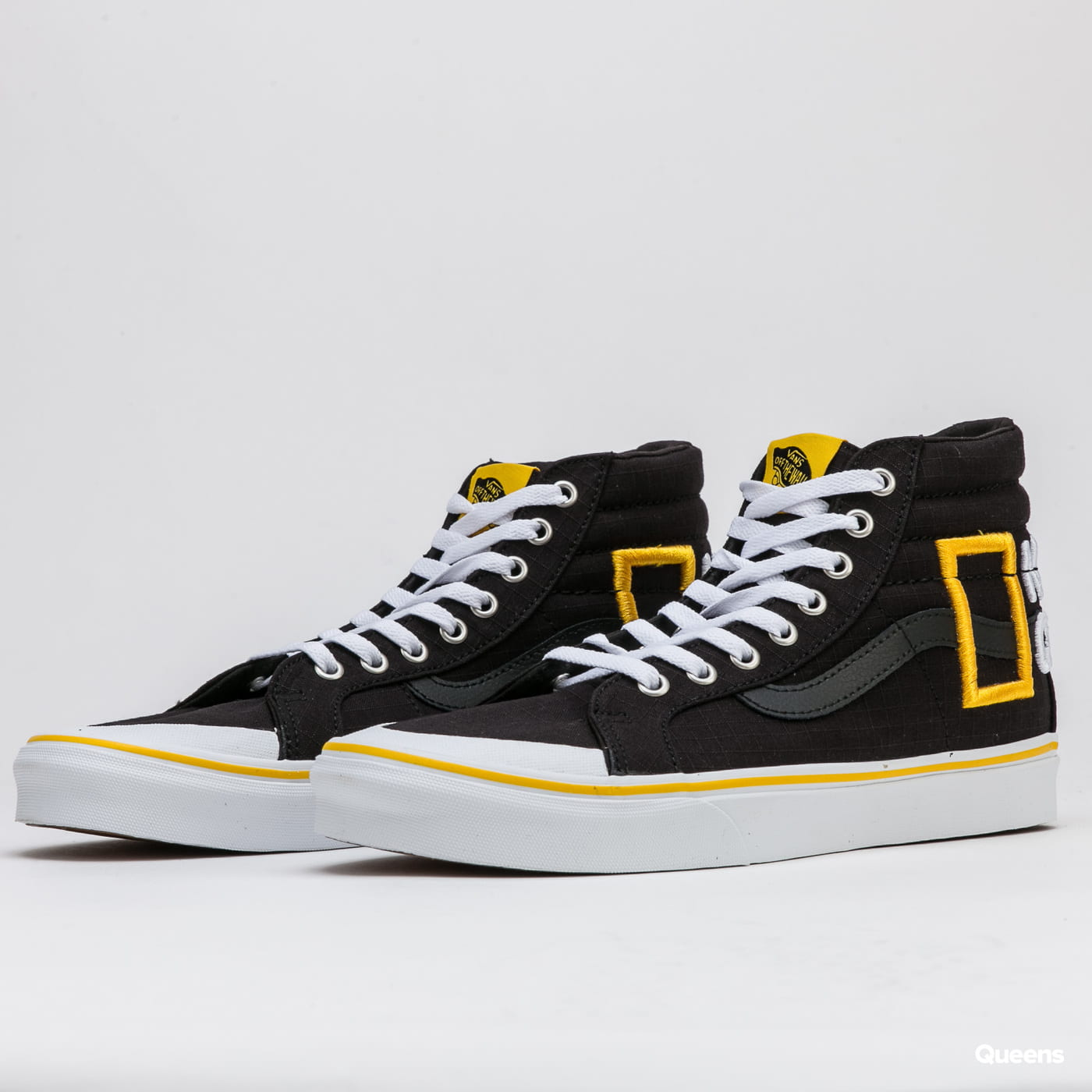 Vans Sk/-Hi Reissue 13 (national geographic) logo