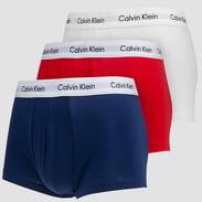 Calvin Klein 3 Pack Low Rise Trunks C/O bílé / červené / navy