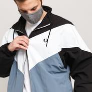 FRED PERRY Chevron Jacket modrá / černá / bílá
