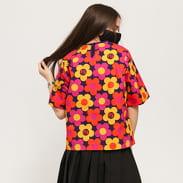 LAZY OAF 70'S Floral Print T-shirt fialové / oranžové / růžové / žluté