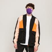 Puma TFS Industrial Track Jacket černá / lososová / neon oranžová