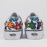 Vans Era Platform (glitter daisies) rainbow / true white