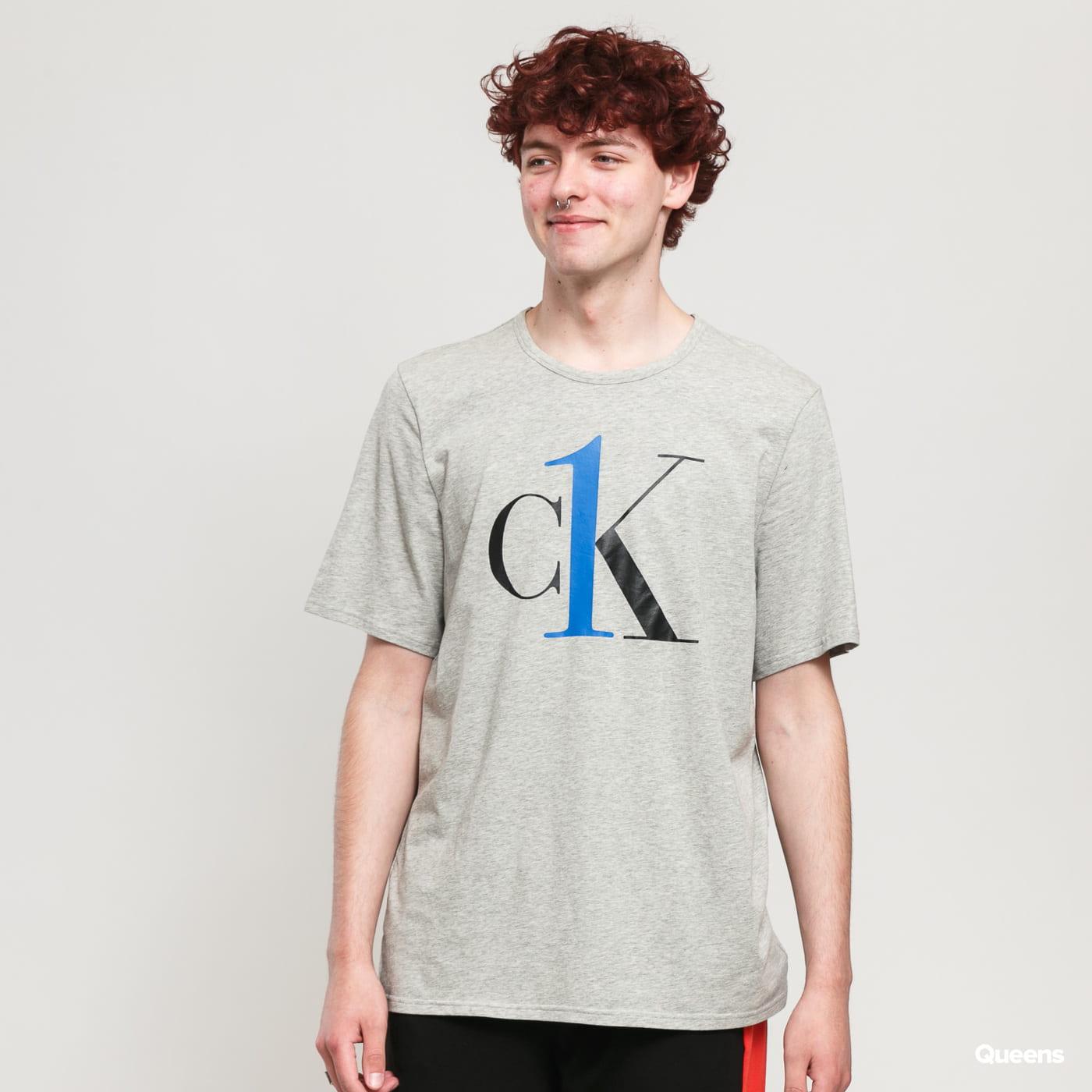 Calvin Klein CK ONE SS Crew Neck C/O melange gray
