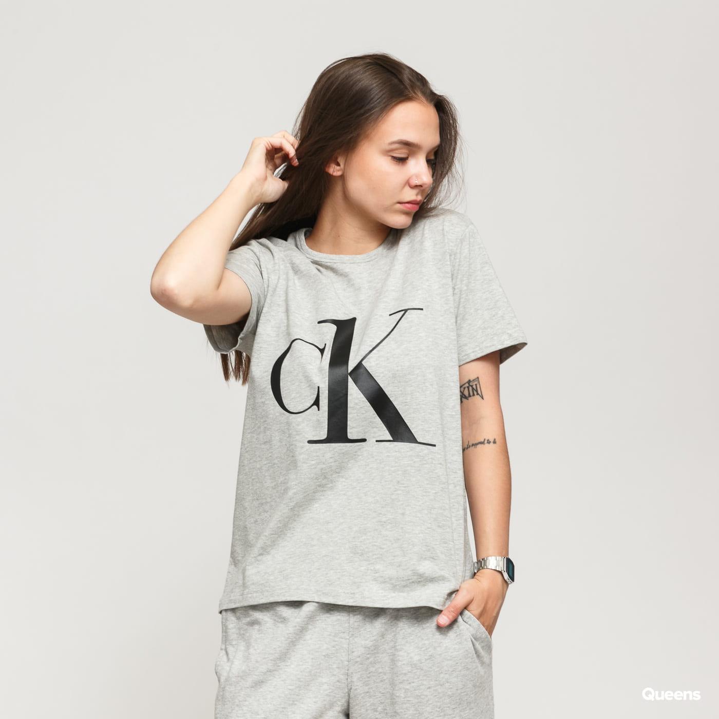 Calvin Klein CK ONE SS Crew Neck Tee C/O melange gray