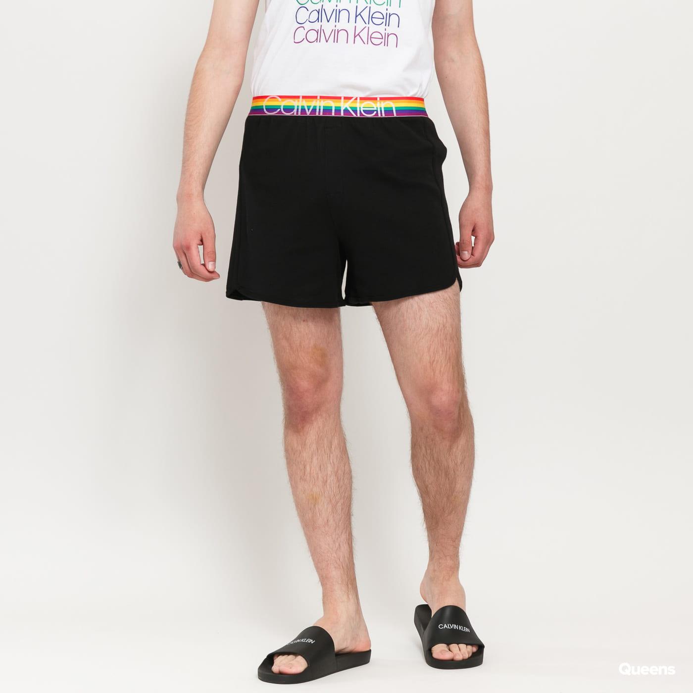Calvin Klein Sleep Short black / multicolor