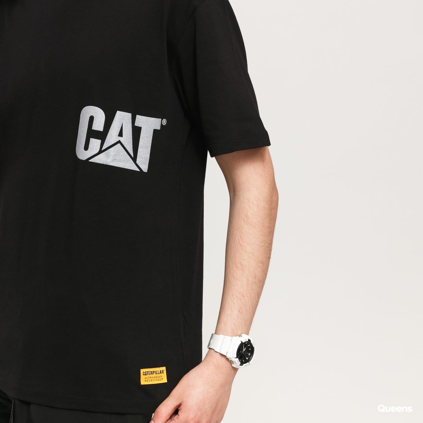 CATERPILLAR CAT Reflective Logo černé