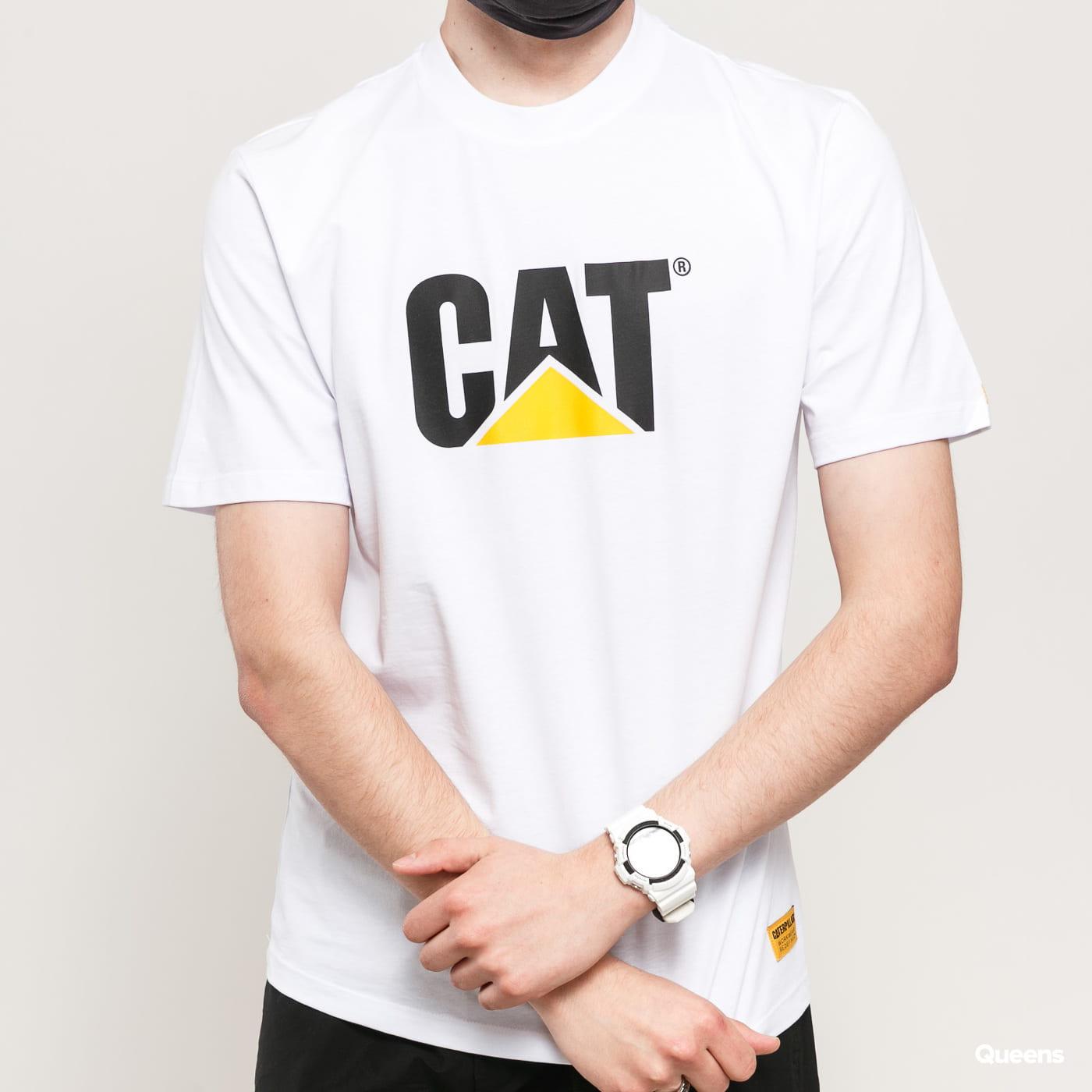 CATERPILLAR Classic CAT Tee white / yellow