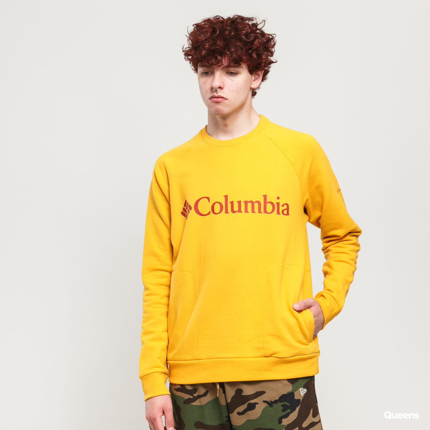 Columbia Columbia Lodge Crew dark yellow