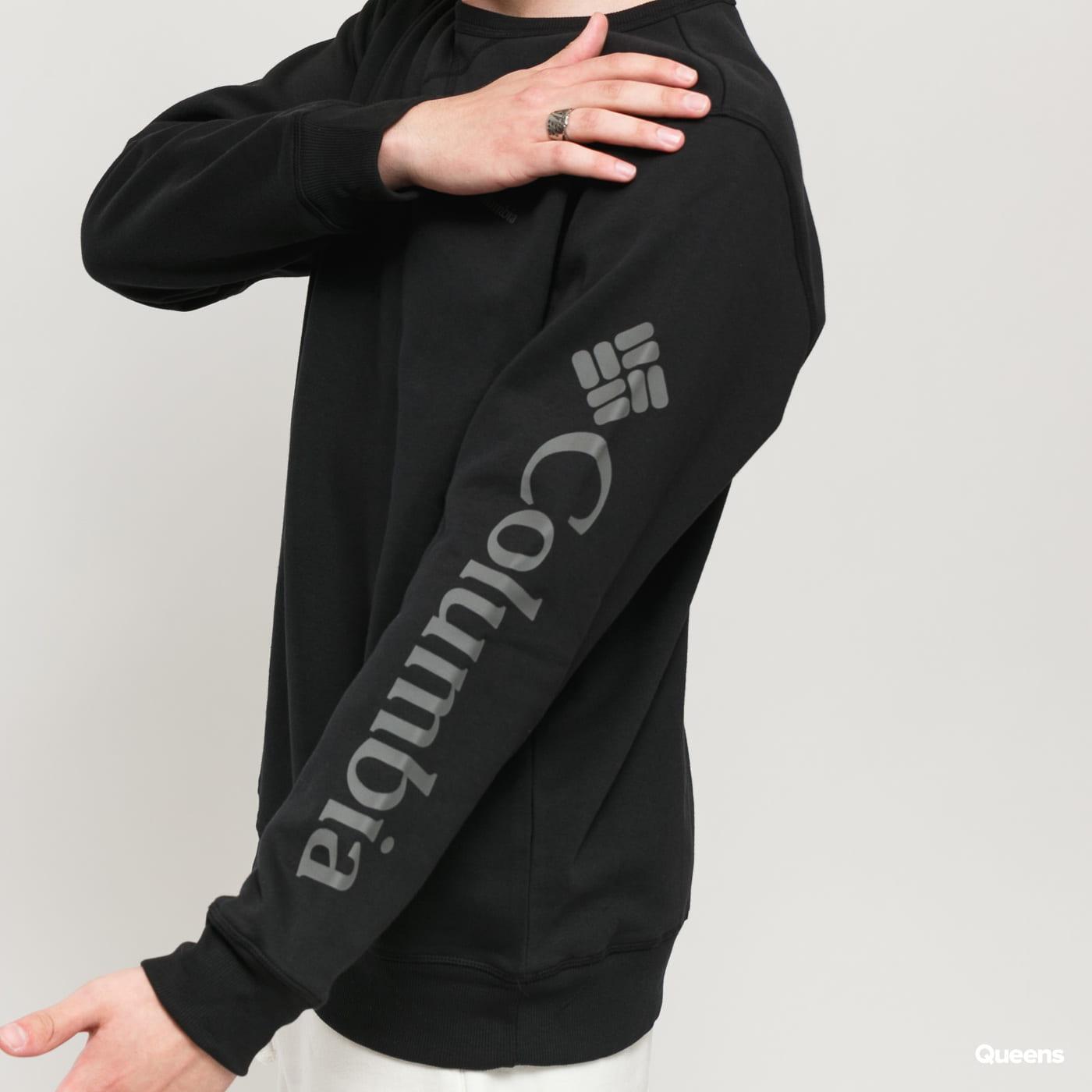 Columbia Columbia Logo Fleece Crew black