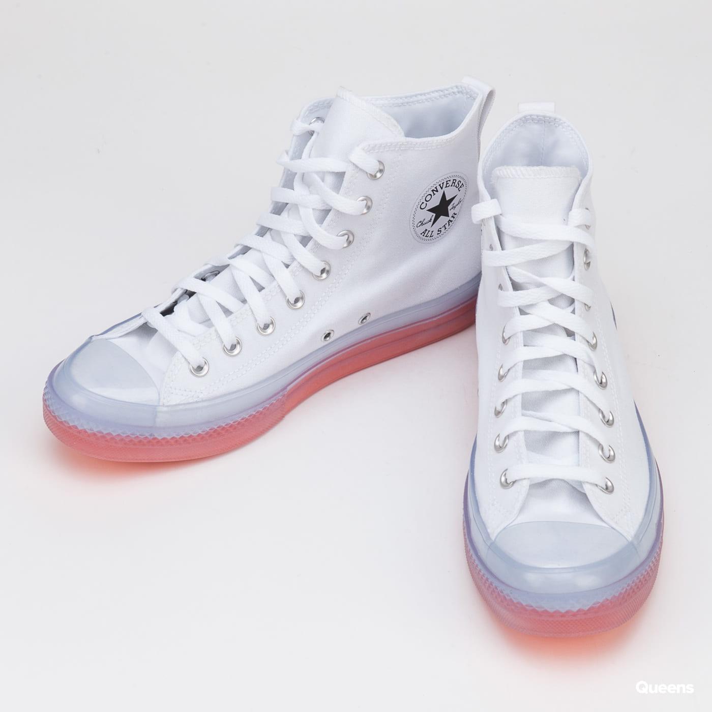 Converse Chuck Taylor All Star CX Hi white / clear / wild mango