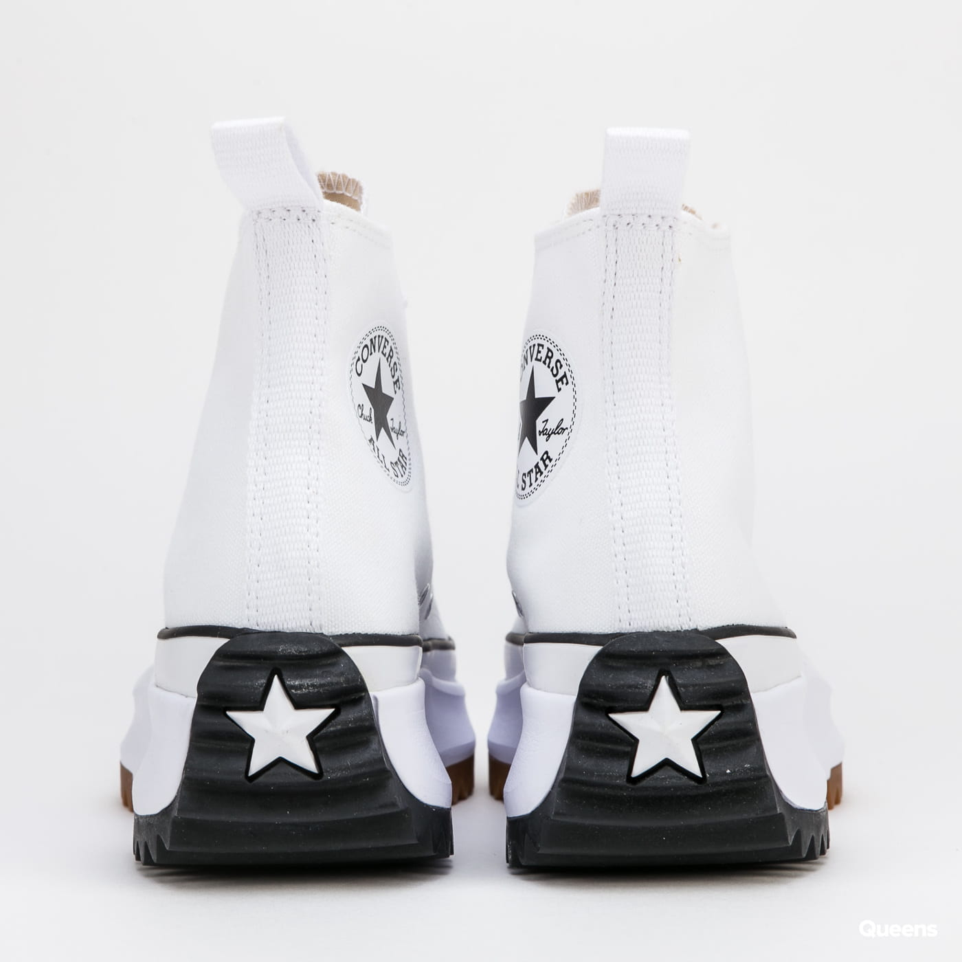 Converse Run Star Hike Hi white / black / gum