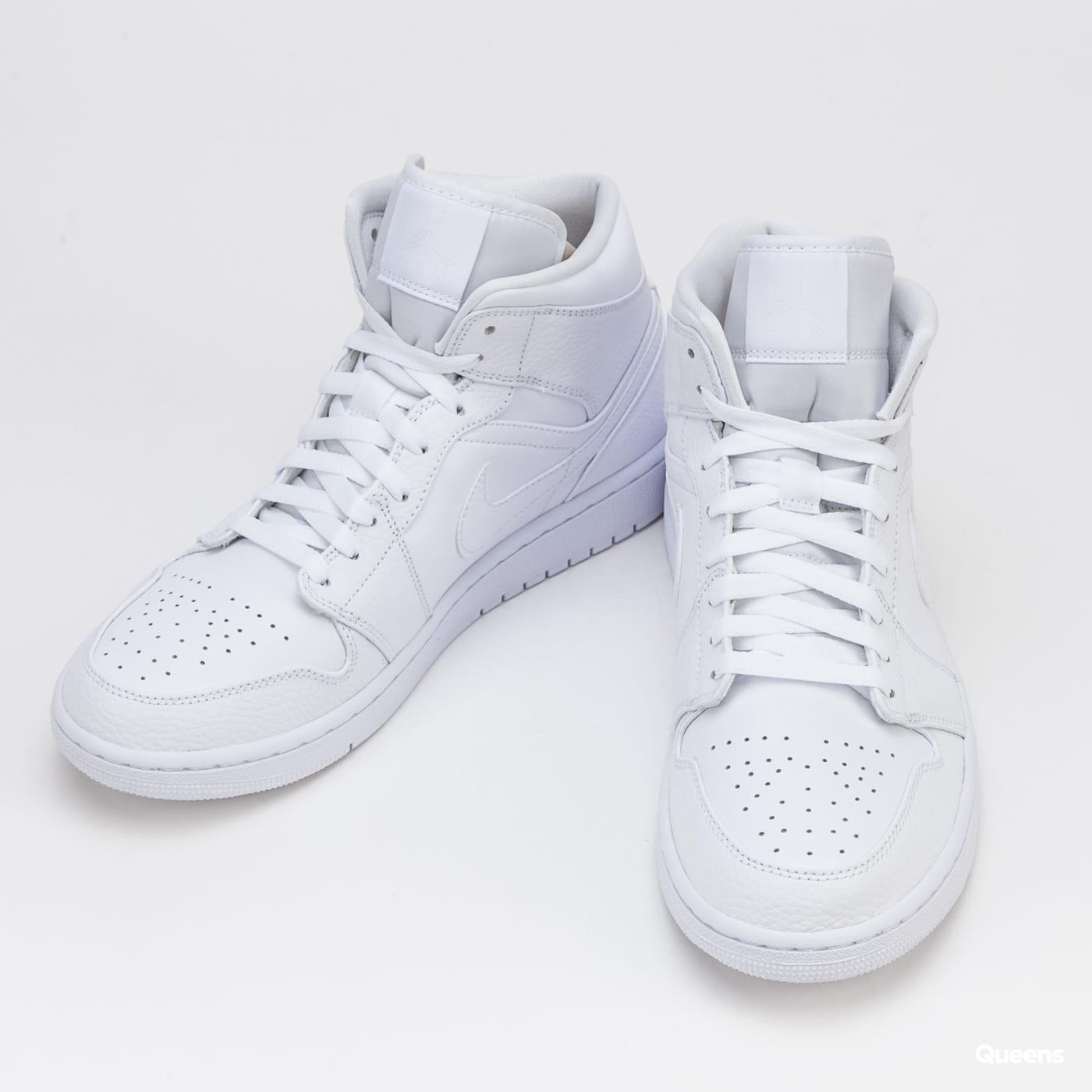 Jordan Air Jordan 1 Mid white / white - white