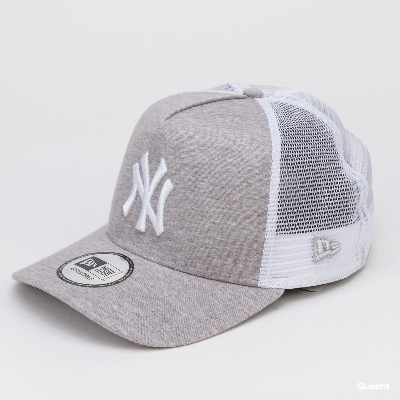 New Era 940 MLB Jersey Essential AF Trucker NY melange gray / white / gray