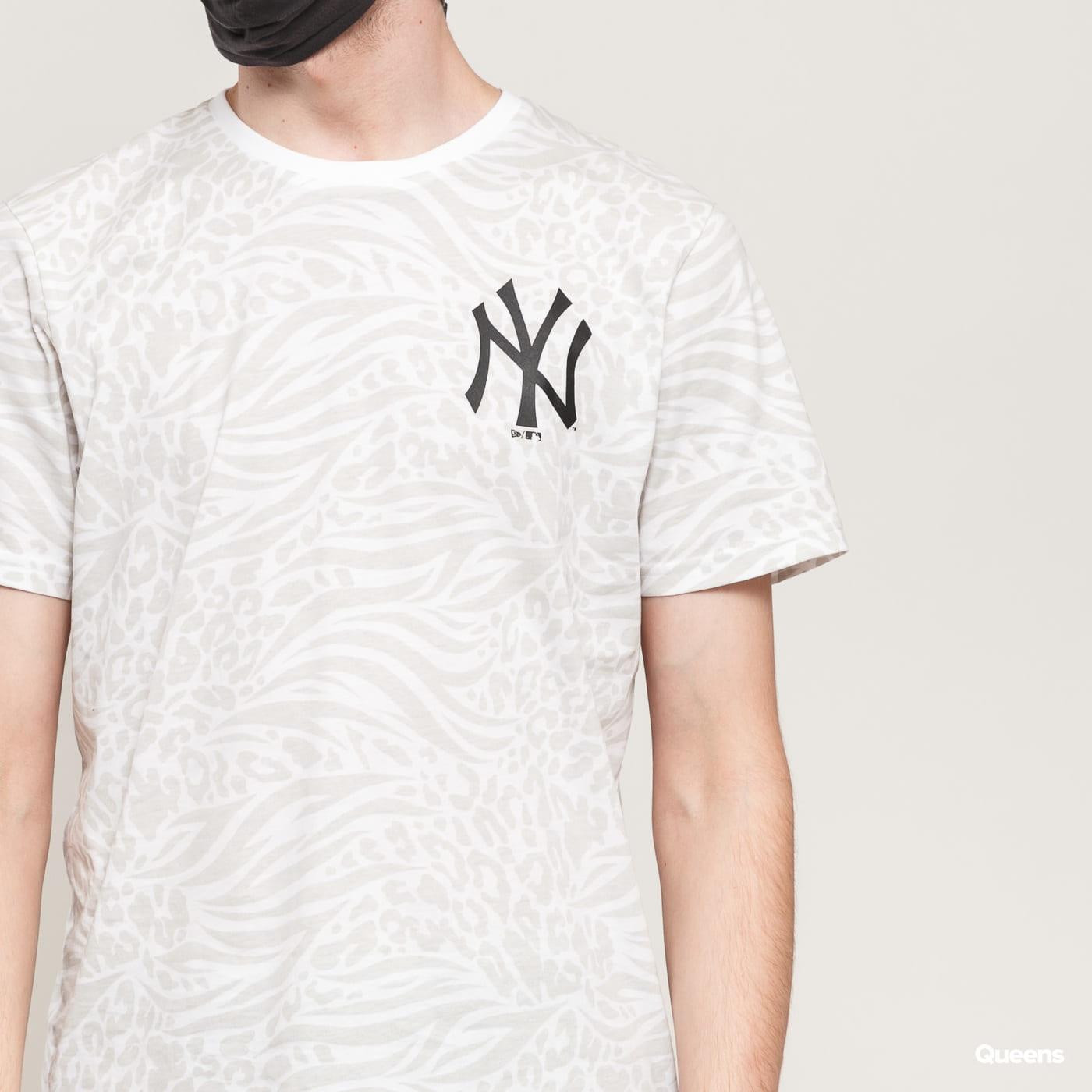 New Era MLB AOP Tee NY white / light gray