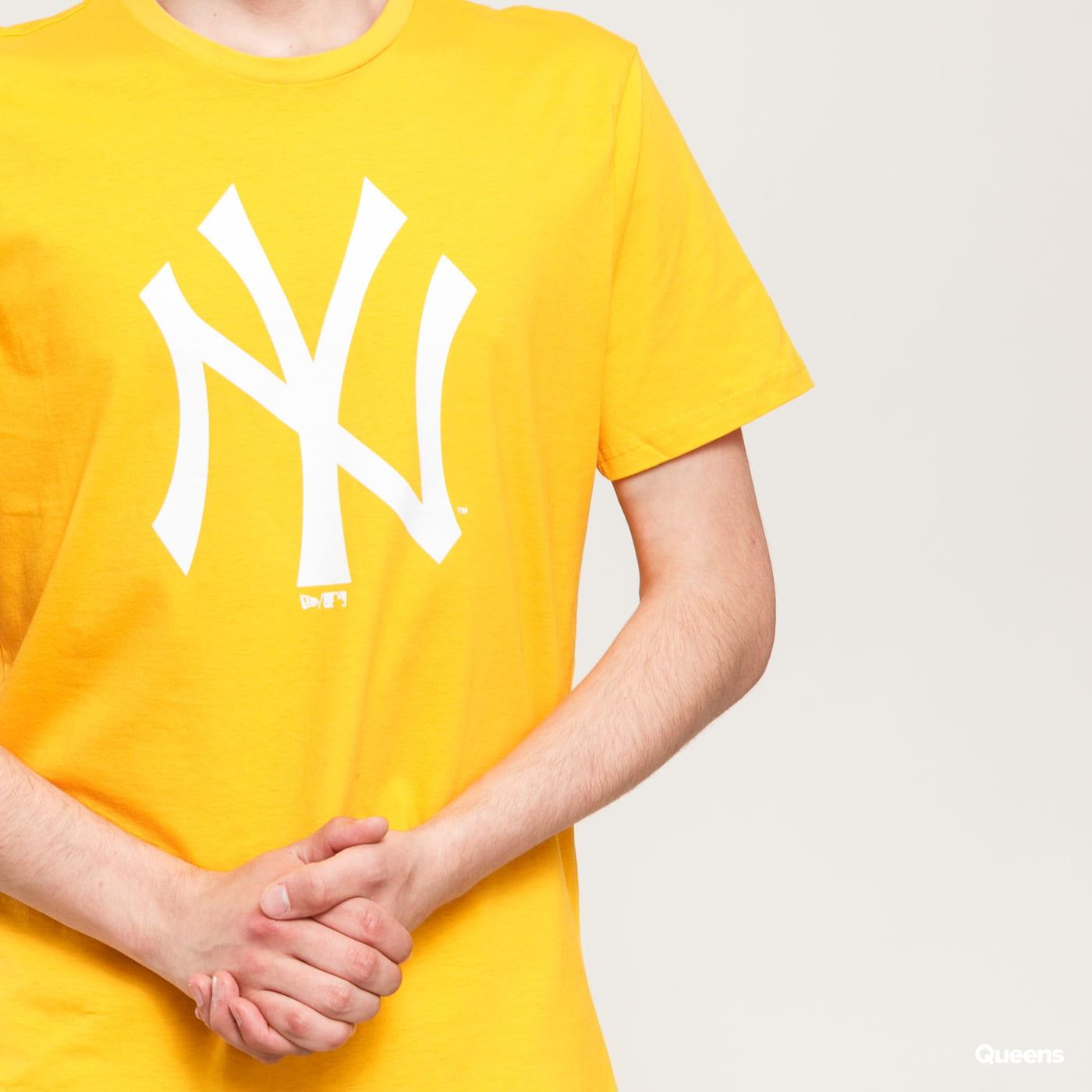 New Era MLB Seasonal Team Logo Tee NY žluté