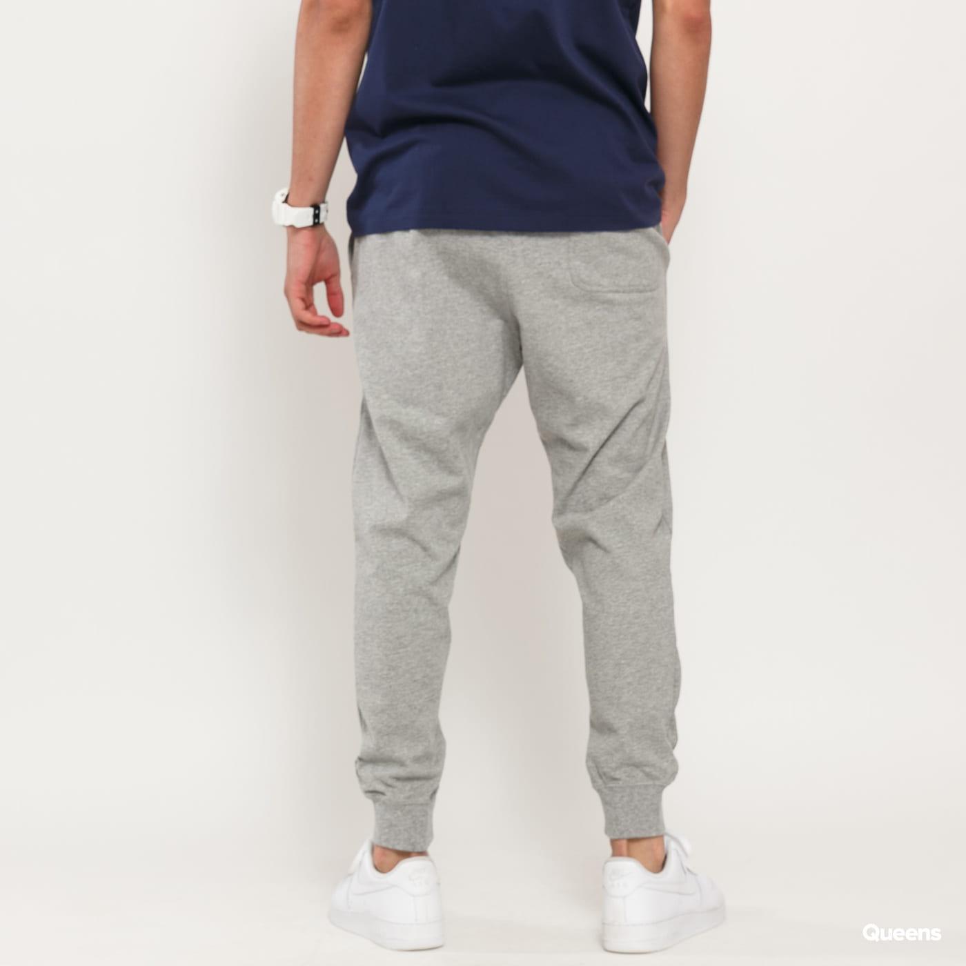 Nike M NSW Club Jogger Jersey melange šedé