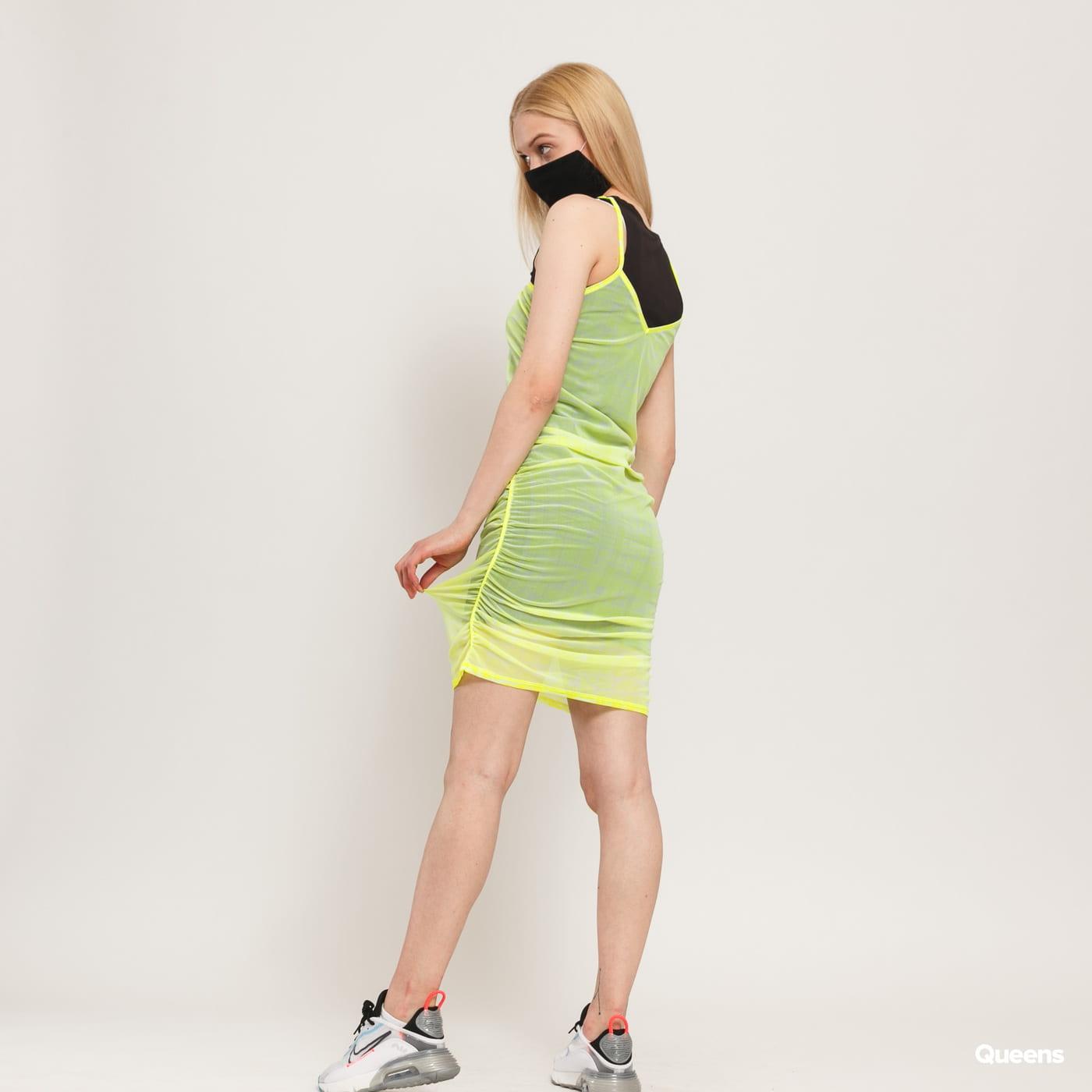 Nike W NSW Indio Dress neon yellow-green / black
