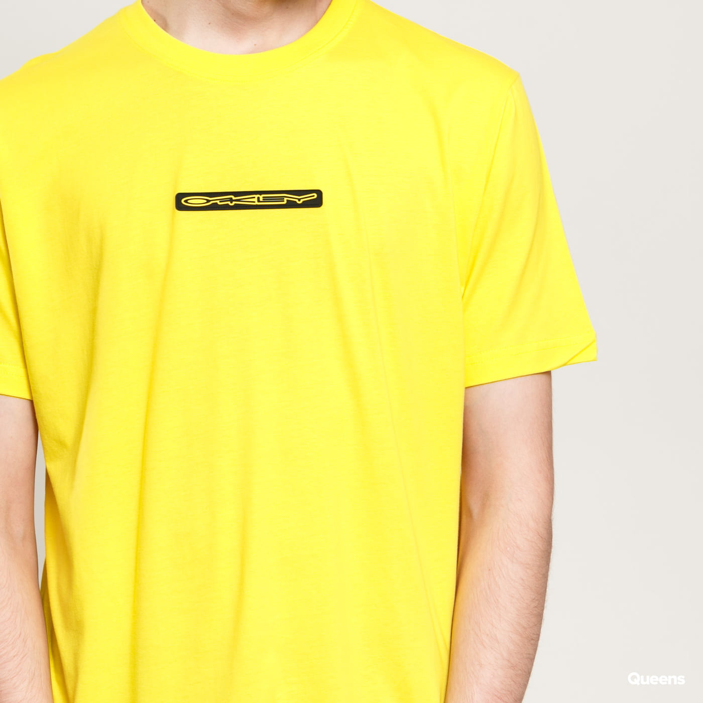 Oakley Stretch Logo Patch SS Tee yellow