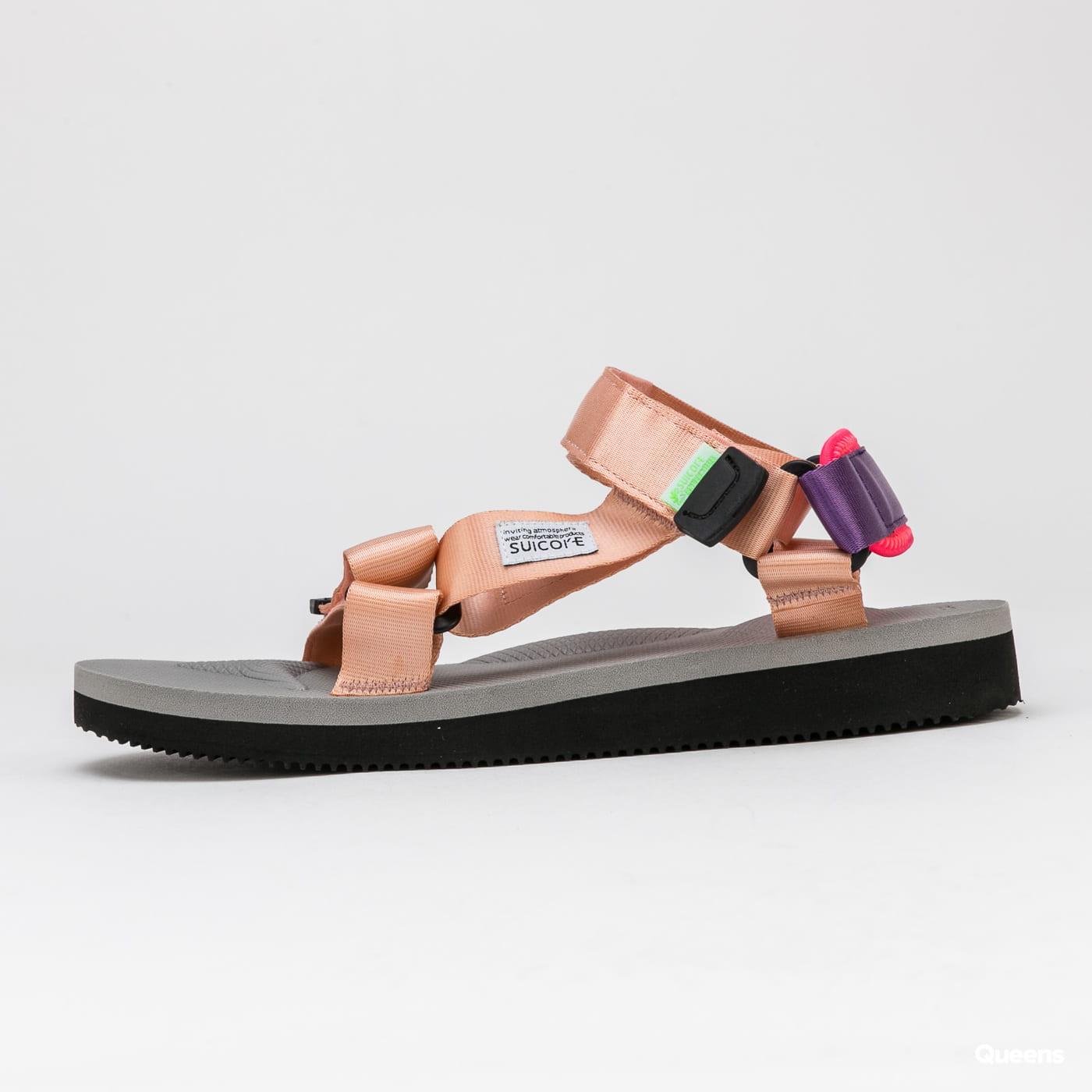 SUICOKE DEPA - Cab pink / grey