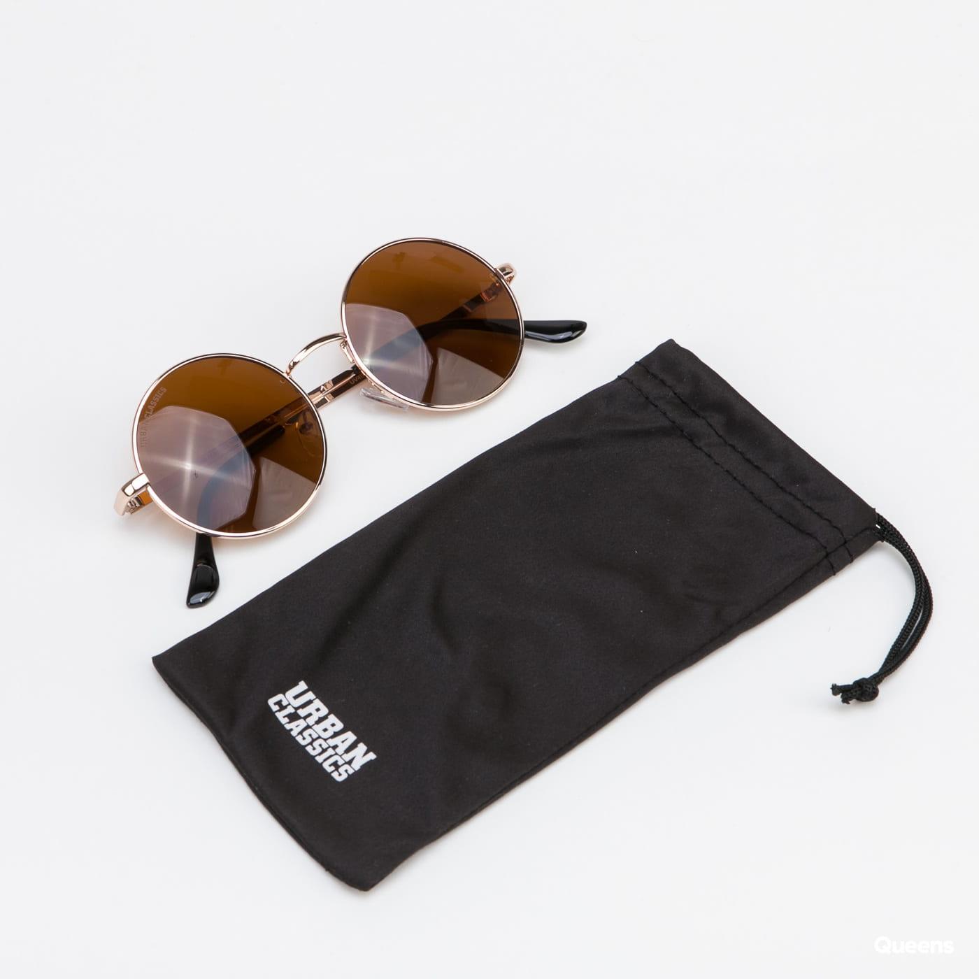Urban Classics 107 Sunglasses UC zlaté / hnědé