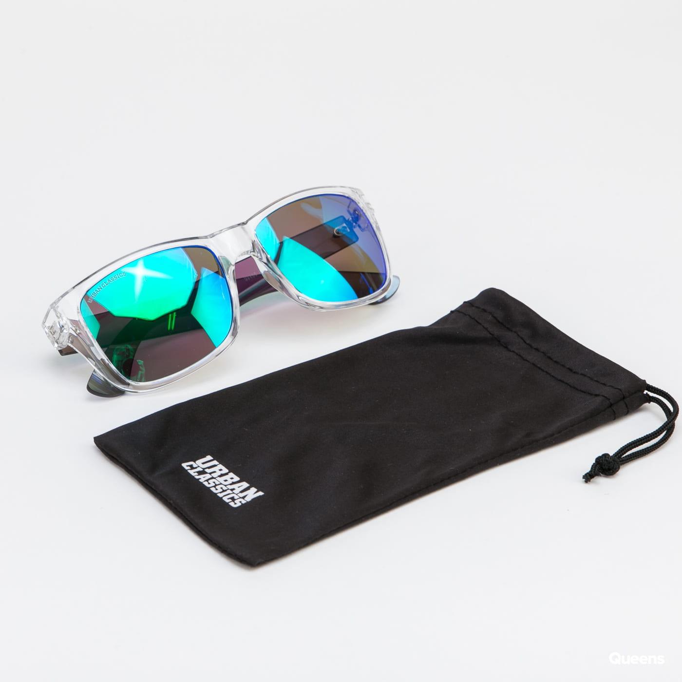 Urban Classics 110 Sunglasses UC transparent / blue