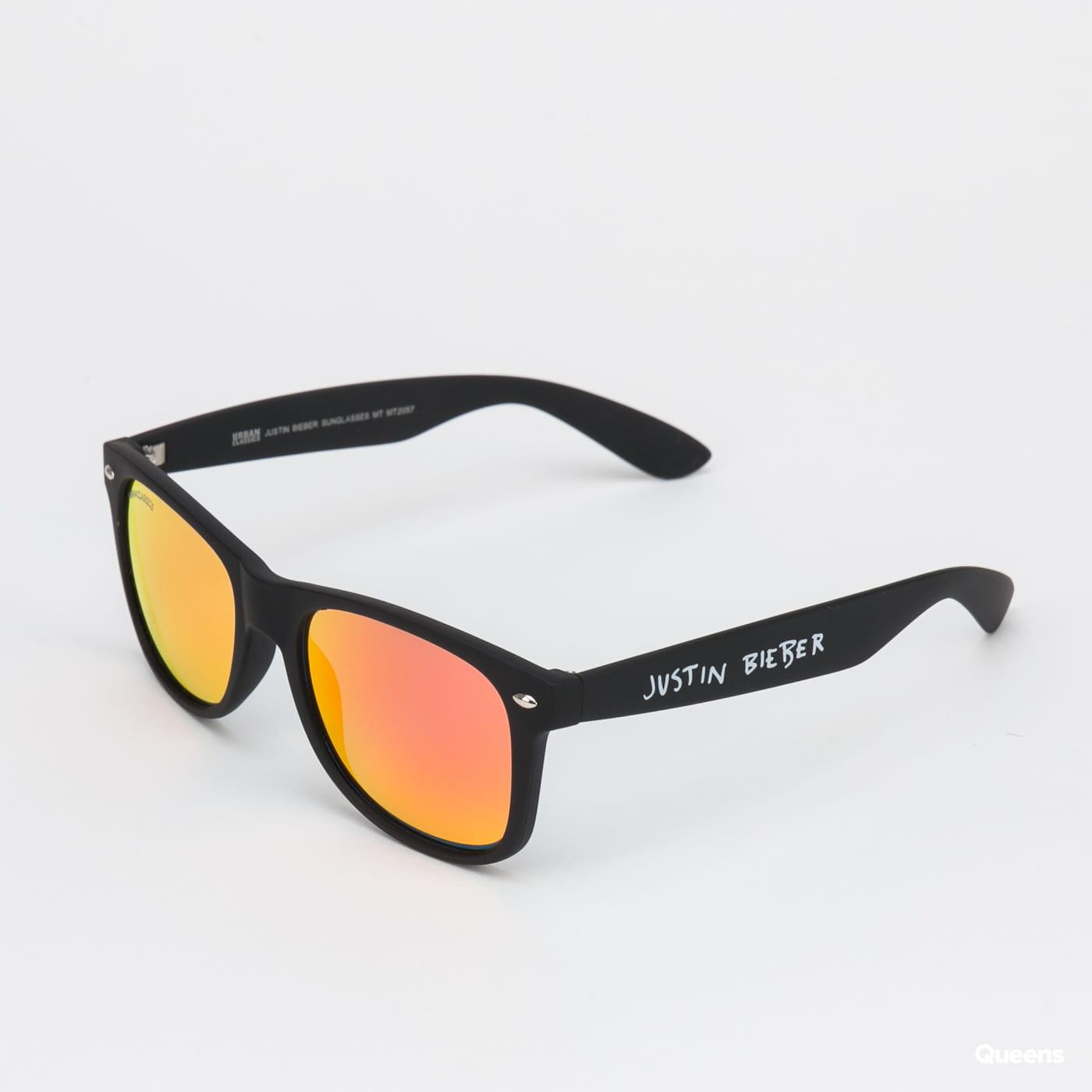 Urban Classics Justin Bieber Sunglasses MT černé / červené