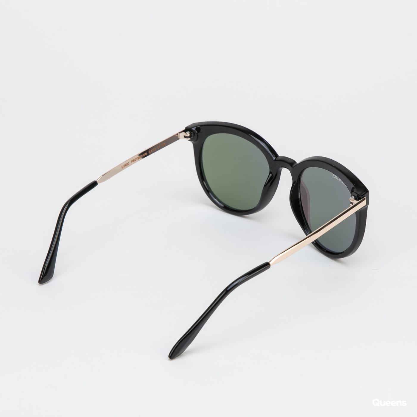 Urban Classics Sunglasses October UC black / yellow