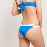 Calvin Klein Cheeky Bikini - Slip blue / white