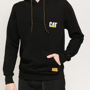CATERPILLAR CAT Small Logo Hoodie černá