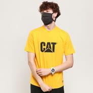 CATERPILLAR Classic CAT Tee žluté