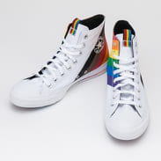 Converse Chuck Taylor All Star Hi white / univerity red