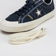 Converse One Star Pro AS OX obsidian / egret / egret
