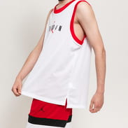 Jordan M J JM Sport DNA Tank bílý / červený