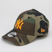 New Era 940 MLB Camo Essential NY camo zelená / zelená