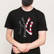 New Era MLB Infill Team Logo Tee NY černé