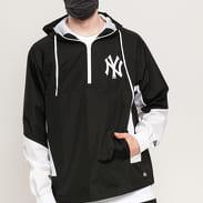 New Era MLB Print Infill Windbreaker NY černá