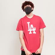 New Era MLB Seasonal Team Logo Tee LA tmavě růžové