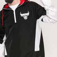 New Era NBA Print Infill Windbreaker Chicago Bulls černá