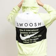 Nike M NSW Swoosh Jacket HD Woven světle zelená / bílá