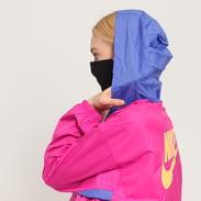 Nike W NSW Icon Clash Jacket LW tmavě růžová / fialová