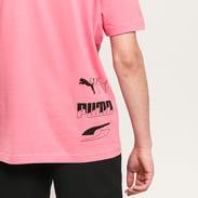Puma Rebel Tee růžové
