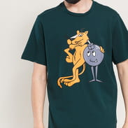 Puma X The Hundreds Tee tmavě zelené